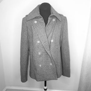 J.Crew Wool Double Breasted Pea Coat Size L